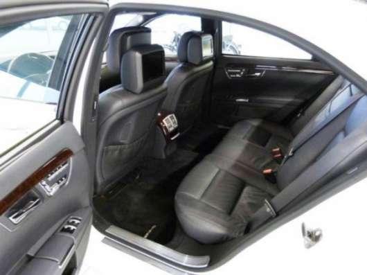 Лучшая головная машина для кортежа Mercedes-Benz S-class W221 Long. Астана.