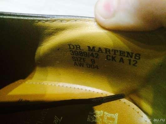 Ботинки Dr Martens Оригинал в Красноярске Фото 1