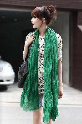 Зелёный шарф - жатка в Перми Фото 3