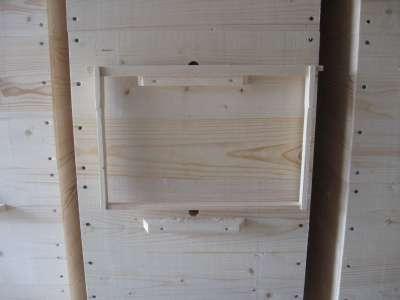 Улья и рамки для пчел