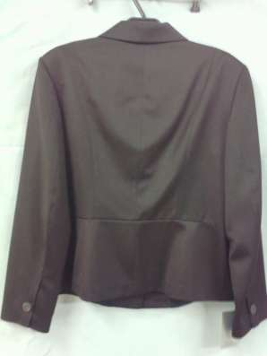 Жакет женский темно-коричневый