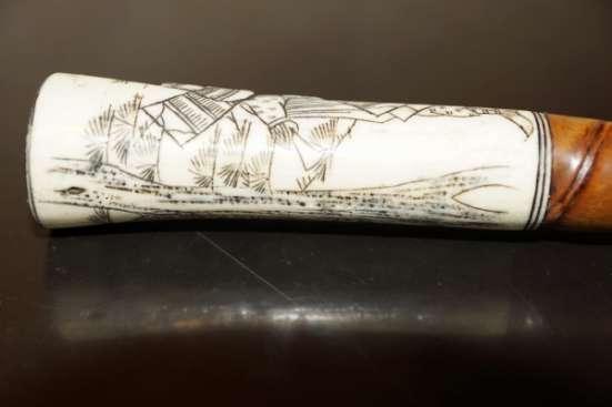Старинная трость японского воина Сикомидзуэ. Япония, XVIII в