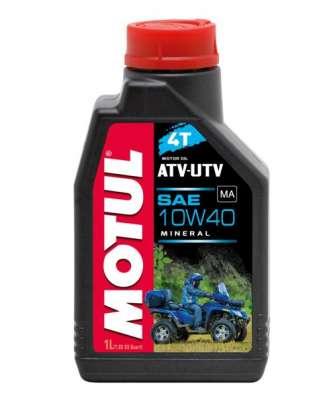 Масло для квадроциклов MOTUL ATV-UTV 4T 10W40 1Л минеральное