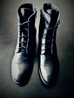 Кожаные Стильные Ботинки демисезон