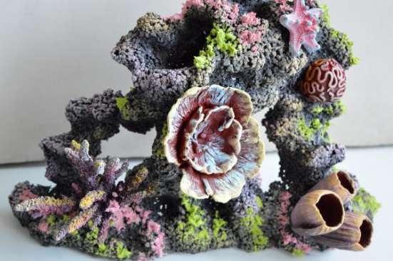 Аквариумные украшения, коралловые рифы