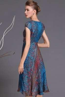 Шифоновое платье, 52 размера в Новосибирске Фото 5