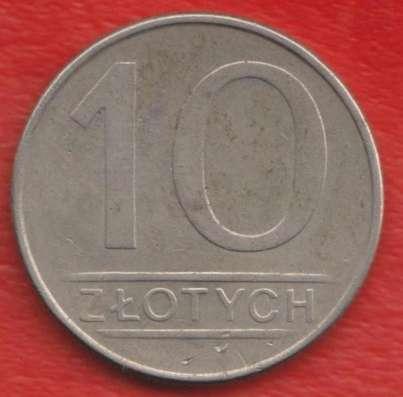 Польша 10 злотых 1987 г
