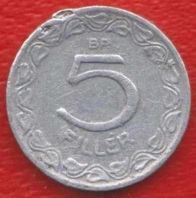 Венгрия 5 филлеров 1959 г