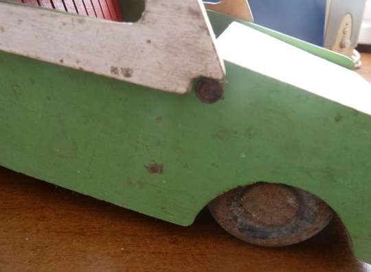 Игрушка машина деревянная СССР 1950 винтаж в Орле Фото 3