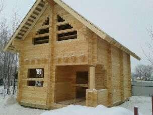 Отделка деревянных домов в Москве Фото 2