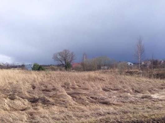 Продается земельный участок 18 соток в д. Бурково, Можайский р-он, 120 км от МКАД по Минскому шоссе.