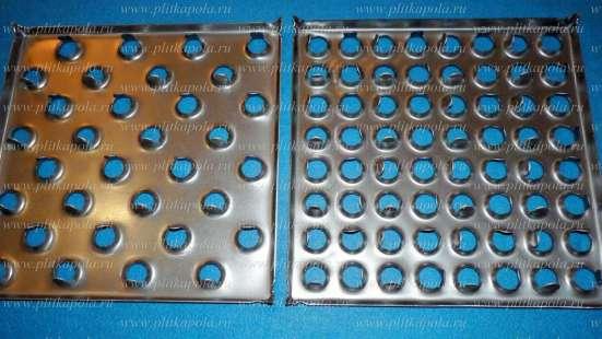 Металлическая плитка для промышленного пола