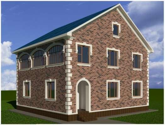 Теплоизолирующая декоративная облицовка жилого дома
