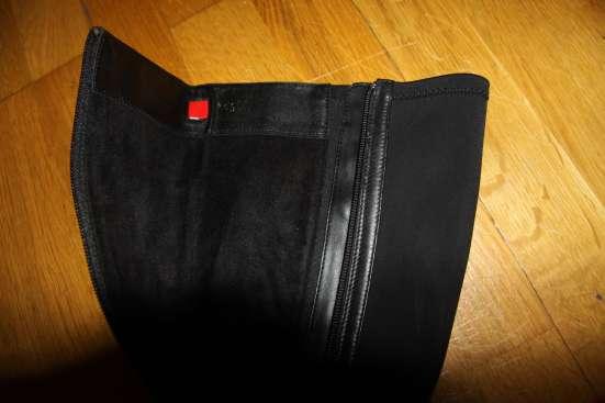 Черные кожаные сапоги Hоgl в Москве Фото 1