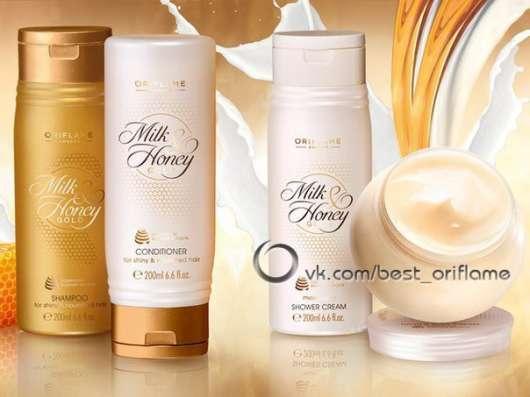 Шампунь «Молоко и мед – Золотая серия»