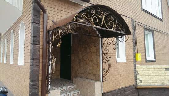 Кованые изделия (ограждения, ворота, решетки, мебель) в Обнинске Фото 1