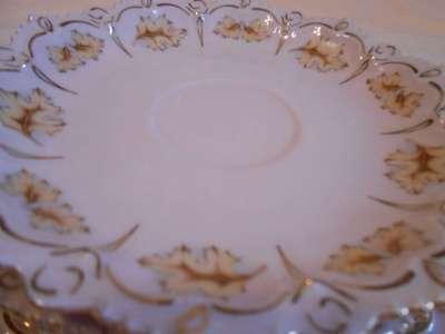Розовый фарфор. Набор тарелок для торта в Москве Фото 2