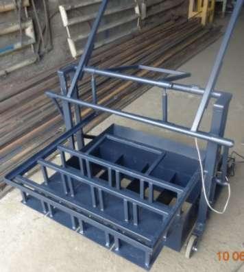 Вибропресс для производства шлакоблоков  ВСШ