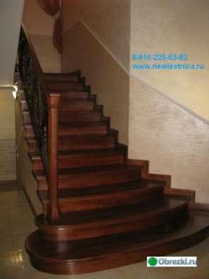 Красивые лестницы для дома и коттеджа Новая Лестница в Дмитрове Фото 2