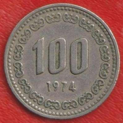 Республика Корея Южная 100 вон 1974 г.