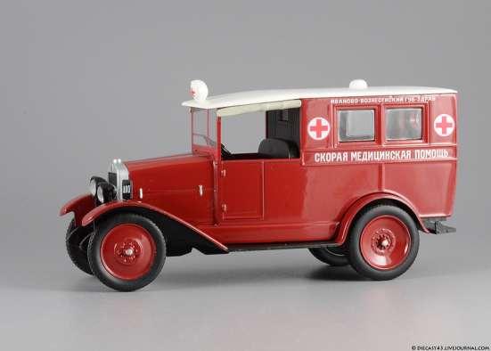 автомобиль на службе №32 АМО-Ф-15 Скорая медицинская помощь в Липецке Фото 3