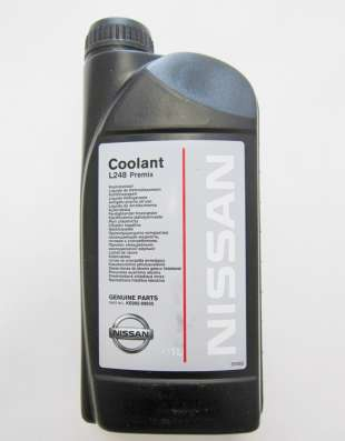 Антифриз Nissan Coolant L248 Premix, антифриз готовый, 1 Л