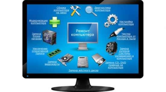 Ремонт компьютеров, настройка, удаление вирусов, чистка пк. в г. Черногорск Фото 2