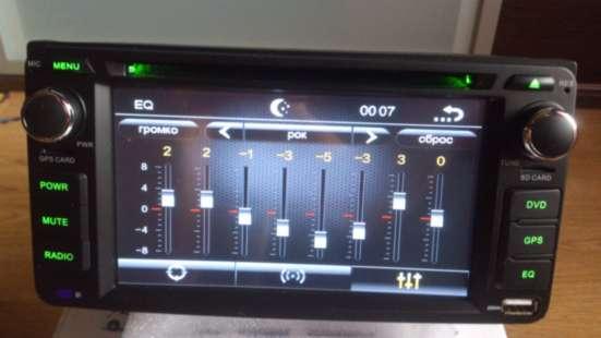 Штатная автомагнитола для всех марок Toyota 2DIN, с GPS