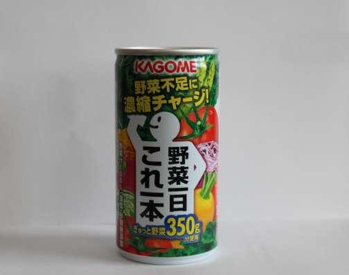 Овощной сок TM KAGOME в жестяной банке, 190 мл(Япония)