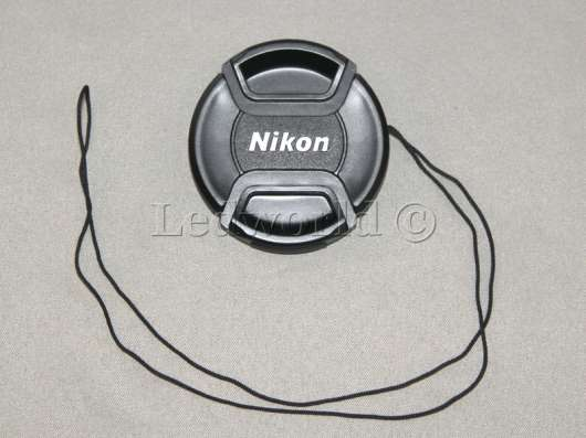 Крышка со шнурком для Nikon 52 mm