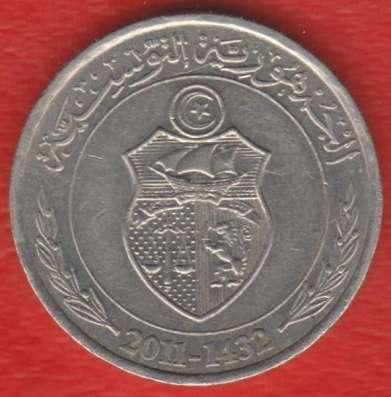 Тунис 1/2 динара 2011 г. в Орле Фото 1