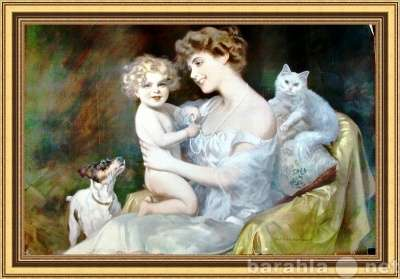 """Литография """"Материнство"""" Alfre"""