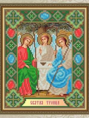 Икона Набор для рукоделия № 10 + рамка с окладом