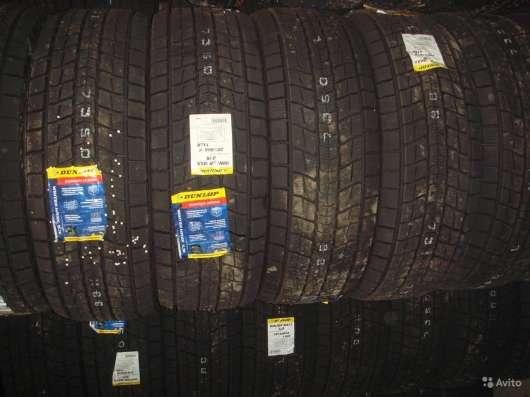 Новые липучки Dunlop 255/60 R18 Winter Maxx SJ8
