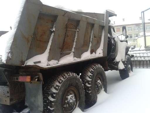 Самосвала марки Урал 5557 в Тюмени Фото 1