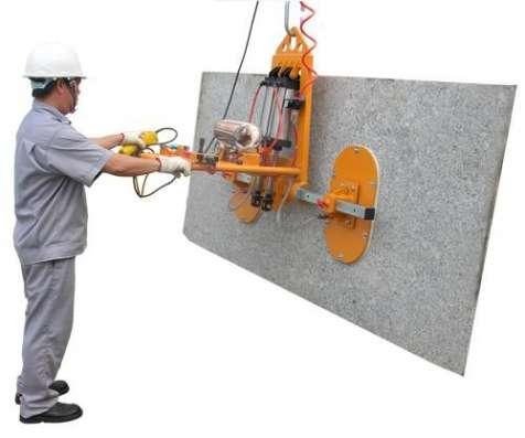 STONE VACUUM LIFTER 50 Bакуумный подъемник (присоска) для каменных плит с функцией наклона (с пневмоцилиндрами) SVL50