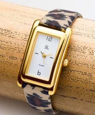 Часы новые, цвет леопардовый