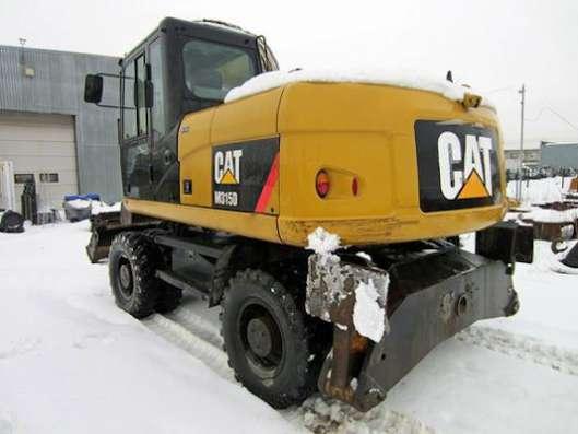 Колесный экскаватор CAT 315, 2011 г, видео