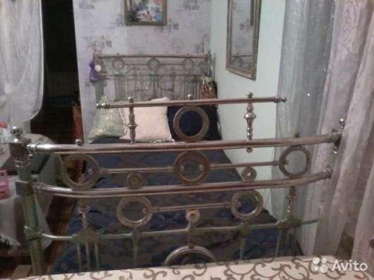 Никелированный кровать 1917года(99)