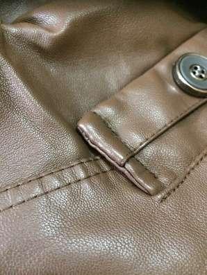 Куртка мужская новая коричневая 52-54 размер в Комсомольске-на-Амуре Фото 2