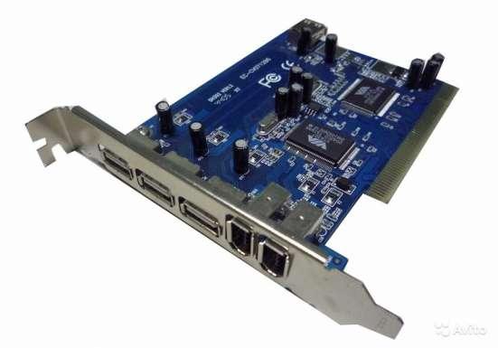 PCI контроллер USB + FireWire (VIA Combo)