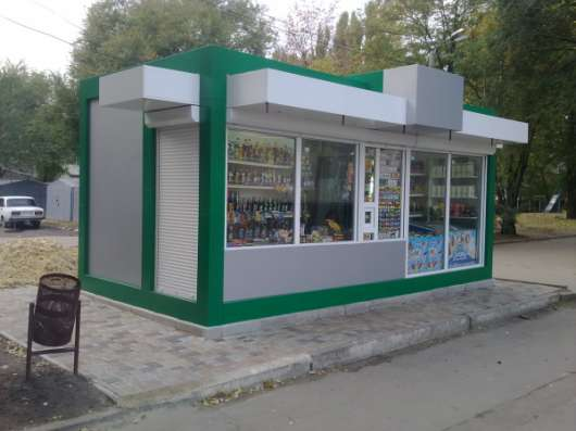 Изготовление торговых павильонов в Щёкино