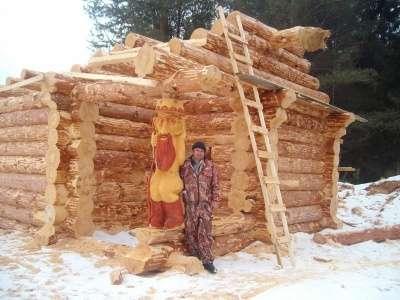 Сруб дома 12х12 ручной работы в Воронеже Фото 1