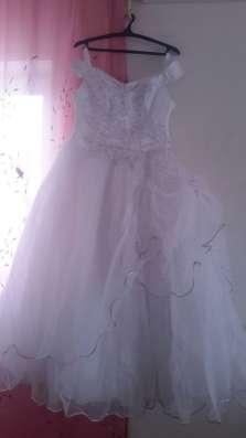 Продаю свадебное платье р.52-56