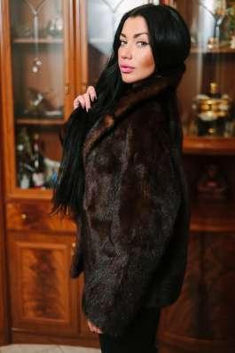 Норковая куртка scanbrown, автомобилка, 42-46 в г. Симферополь Фото 3