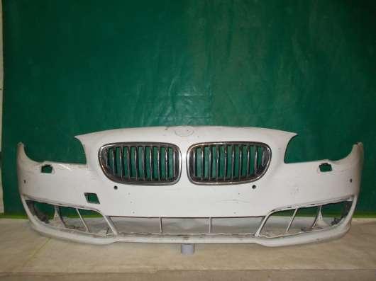 Передний бампер на BMW 5er F10