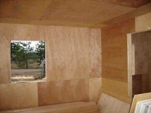 Внутренняя отделка домов и бань