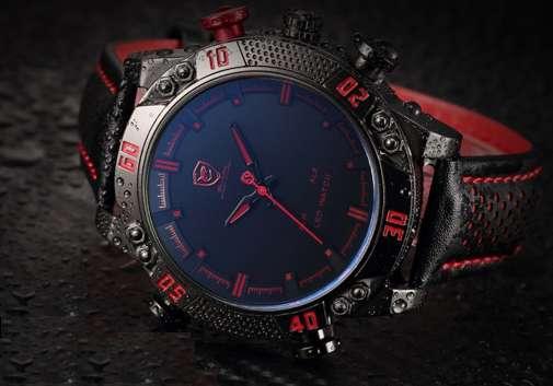 Брутальные спортивные часы Shark watch