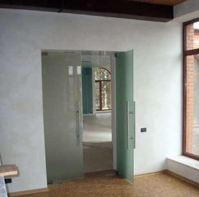 Стеклянные межкомнатные двери в г. Караганда Фото 4
