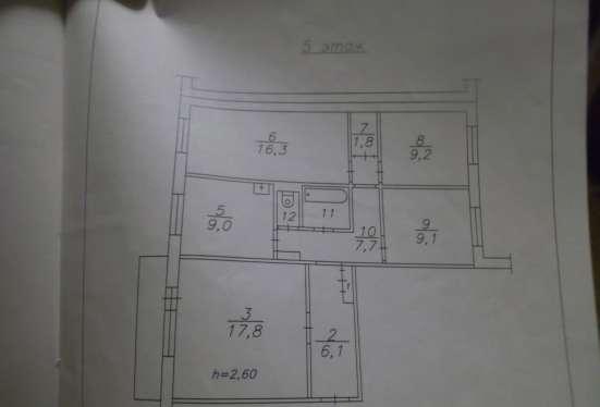 4-х комнатная квартира пгт Кедровый